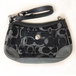 Coach convertible Demi wristlet wallet
